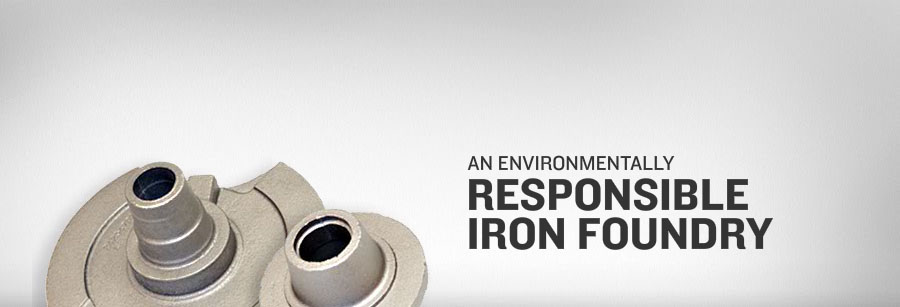 An environmentally responsible iron foundry