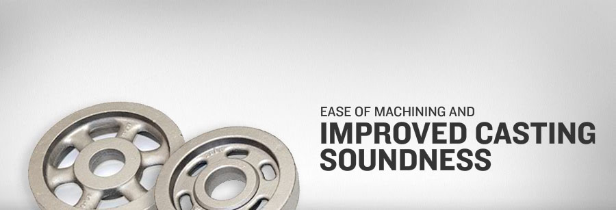 Ease of machining and improved casting soundness